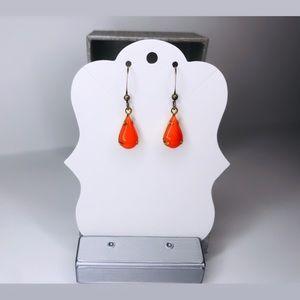 ♡ 2 for 20$ ♡ Pumpkin Teardrop Earrings